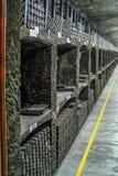 Der alte Weinkeller an der Weinkellerei Retro- Foto lizenzfreie stockfotos