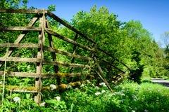 Der alte Zaun in Harz Stockfotografie