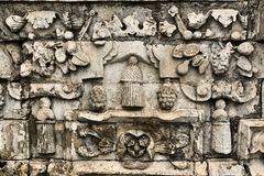 Der alte Ziegelsteinhintergrund Lizenzfreies Stockbild