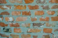 Der alte Ziegelsteinrot-Wandhintergrund, Beschaffenheit Lizenzfreies Stockfoto