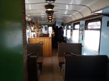 Der alte Zug stockfoto