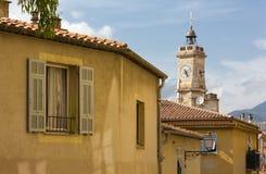 In der alten Nizza Stadt Stockbilder