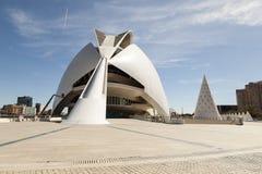 Der Ameisenbär in der Stadt von Künsten und von Wissenschaft Valencia Lizenzfreie Stockfotos