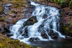 Der Amitabha-Wasserfall Lizenzfreie Stockfotos