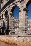 Der Amphitheatre Stockfotografie