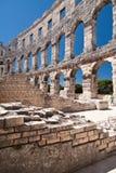 Der Amphitheatre Lizenzfreie Stockbilder