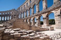 Der Amphitheatre Lizenzfreie Stockfotos