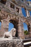 Der Amphitheatre Stockbilder