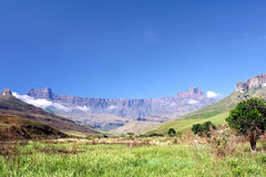 Der Amphitheatre, Südafrika Stockfoto