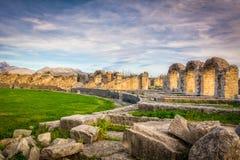 Der Amphitheatre Salona lizenzfreie stockbilder