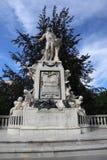 Der anazing Mozart lizenzfreie stockfotografie