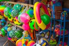 Der Anblick und die Tätigkeiten von Patong-Strand Thailand Stockbilder