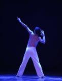 der Anblick von irgendjemandes Rückseite - Schrei-moderner Tanz Lizenzfreie Stockbilder
