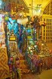 Der Andenkenstall in Vakil-Basar Stockbilder