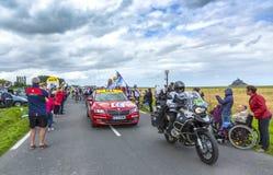 Der Anfang von Tour de France 2016 stockbilder