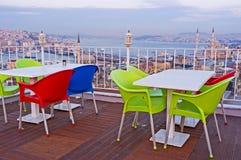 Der angenehme Abend in Istanbul Lizenzfreie Stockfotos