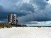 Der ankommende Sturm stockbilder