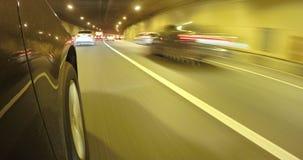 Der Antrieb im Tunnel stock footage