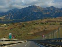Der Antrieb nach Palermo Lizenzfreie Stockfotos