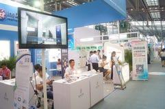 Der 9. APEC SME-Technologie Austausch und die Ausstellung Lizenzfreie Stockfotos