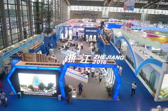 Der 9. APEC SME-Technologie Austausch und die Ausstellung Lizenzfreies Stockfoto