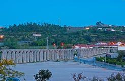 Der Aquädukt von Obidos Lizenzfreie Stockbilder