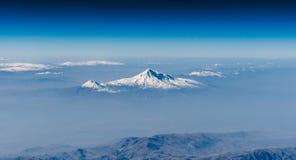 Der Ararat und wenig Ararat lizenzfreies stockbild