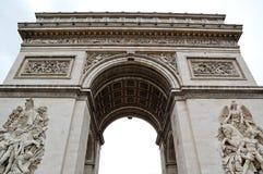 Der Arc de Triomphe Lizenzfreies Stockbild