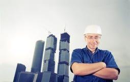 Der Architekt lizenzfreie stockfotos