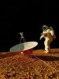 Der Astronaut lizenzfreie stockfotos