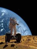 Der Astronaut Stockfoto