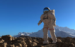 Der Astronaut Lizenzfreie Stockbilder