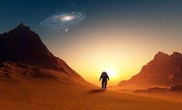 Der Astronaut Stockbilder