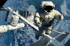 Der Astronaut lizenzfreies stockfoto