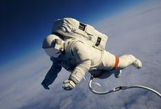Der Astronaut lizenzfreie abbildung