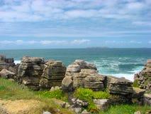 Der Atlantik, Portugal stockbild