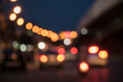 Der Atmosphären-Schnitt in der Nacht Lizenzfreies Stockbild