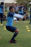 Der Ausbildungslager-Indonesien-Internationalfußball lizenzfreies stockbild