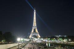 Der Ausflug Eiffel in Paris Stockfoto