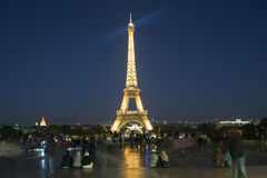 Der Ausflug Eiffel in Paris Stockbilder