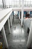 Der Ausstellunghalleninnenraum stockfotos