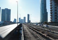 Der Ausweg der Stadt Stockfotografie