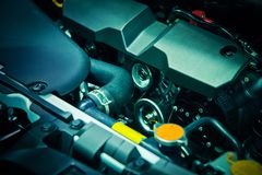 Der Automotor Lizenzfreie Stockbilder