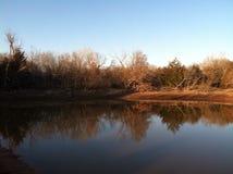 Der Autumn Pond 02 Stockfotos