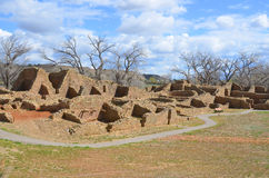 Der Azteke ruiniert Nationaldenkmal Lizenzfreies Stockbild
