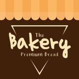 Der Bäckerei-erstklassige Brot-Dreieck-Vektor Lizenzfreies Stockbild