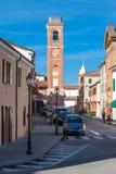 Der bürgerliche Turm von montiano Lizenzfreies Stockfoto
