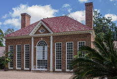 Mount Vernon-Gewächshaus Washington Stockfotos