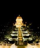 Der Baha'i Tempel Lizenzfreies Stockfoto