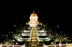 Der Baha'i Tempel Lizenzfreies Stockbild